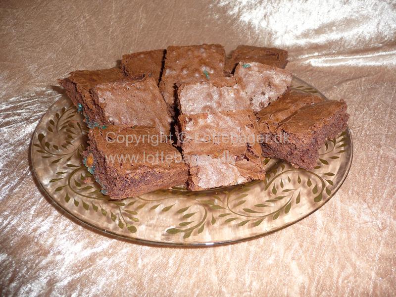 Brownies Med Chokoladepeanuts
