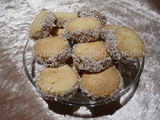 Cookies med lime og karamelfyld | Bageopskrifter, kageopskrifter og opskrifter på tærte m.m.