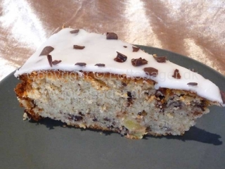 Ananaskage med chokolade | Lottebager.dk | Bageopskrifter, kageopskrifter og opskrifter på tærte m.m.