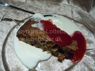 Dessertkage med marcipan | Lottebager.dk | Bageopskrifter, kageopskrifter og opskrifter på tærte m.m.