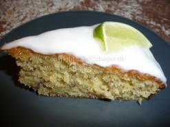 Lime kage med glasur | Lottebager.dk | Bageopskrifter, kageopskrifter og opskrifter på tærte m.m.
