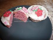 Pige / Prinsesse - Muffins / Cupcakes | Lottebager.dk | Bageopskrifter, kageopskrifter og opskrifter på tærte m.m.