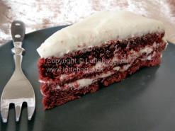 Red velvet kage | Lottebager.dk | Bageopskrifter, kageopskrifter og opskrifter på tærte m.m.