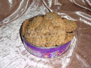Cookies med chokolade | Lottebager.dk | Bageopskrifter, kageopskrifter og opskrifter på tærte m.m.