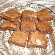 Brownies med kæmpeskildpadder