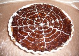 Chokolade nøddetærte - bageopskrift