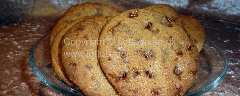 Cookies med Daim - bageopskrift