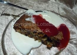 Desertkage med marcipan