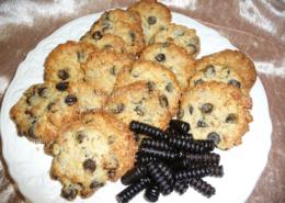 Lakrids cookies - bageopskrift