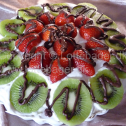 Lykkes frugt tærte
