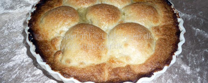 Pæretærte - bageopskrift