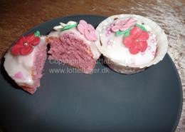Pige prinsesse muffins cupcakes bageopskrift