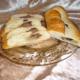 Stænger med marcipan, nougat og chokoladefyld - bageopskrift